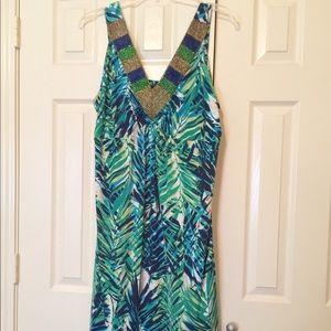 NEW!! Beaded Summer Dress!!